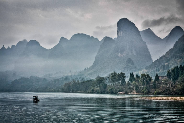 Lijiang River, Guilin, Guangxi Province, China
