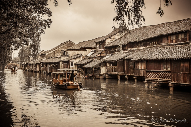 Wuzhen Ancient Water Town, Zhejiang Province, China